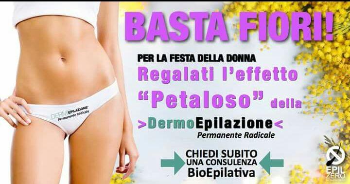 Bodycharme Roma festa della donna epilazione